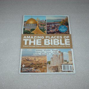 Amazing Places of The Bible magazine